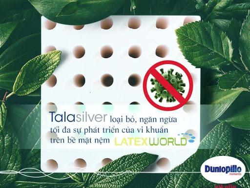 Đệm cao su Dunlopillo Latex World Eco 7