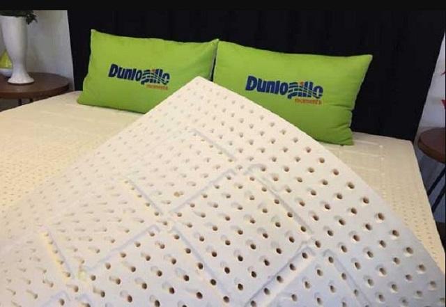 công nghệ sản xuất đệm cao su Dunlopillo 2