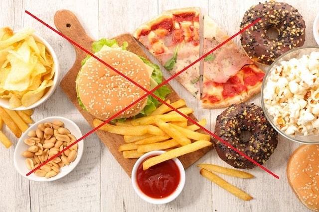 Hạn chế ăn đồ ăn nhanh