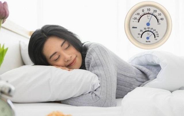 nhiệt độ trong phòng ngủ